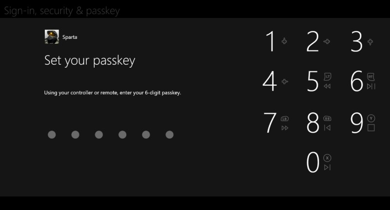 one passkey
