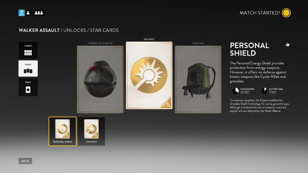 GameCrate Battlefront beta Star Cards screenshot by Seth Perlstein