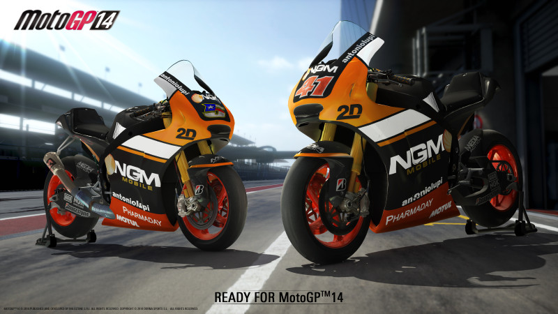 NGM READY FOR MOTOGP14