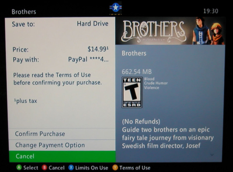 xbox 360 store Brothers