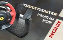 Thrustmaster Ferrari 458 Spider recenze